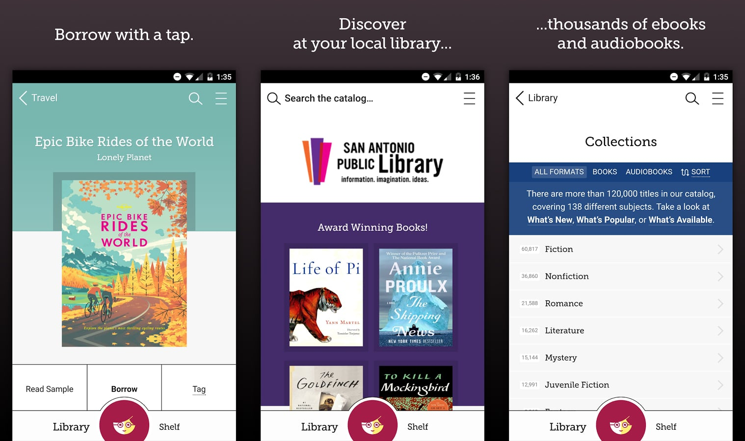 which ereader for overdrive ebooks